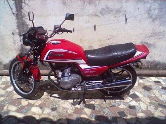 Honda Cb - 400 Ano 1984