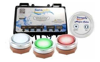 Cromoterapia 2 Pontos Sanspray Frete Grátis (luzes De Led)