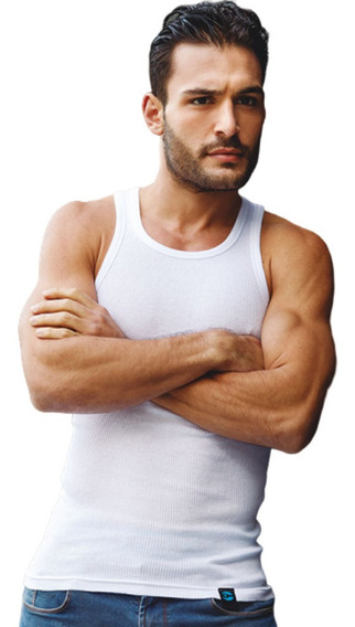 Camiseta Tipico Hombre Musculosa De Morley Talles 38 Al 50