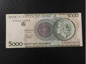 Cédula Cinco Mil Cruzeiros