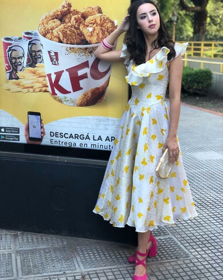 Vestido Vintage De Fiesta Elsa Serrano