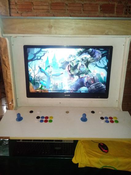 Bartop Multi-jogos C/ Sistema Jukebox