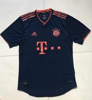 Camisa Do Bayern De Munique Versão Jogador Fotos Reais