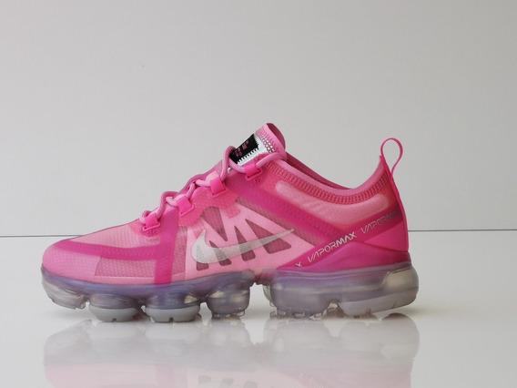 Tenis Nike Air Vapormax 2019 Rosa Mujer Nuevos De Remate