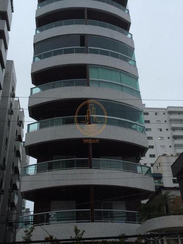 Apartamento  Com 2 Dormitório(s) Localizado(a) No Bairro Vila Guilhermina Em Praia Grande / Praia Grande  - 6021