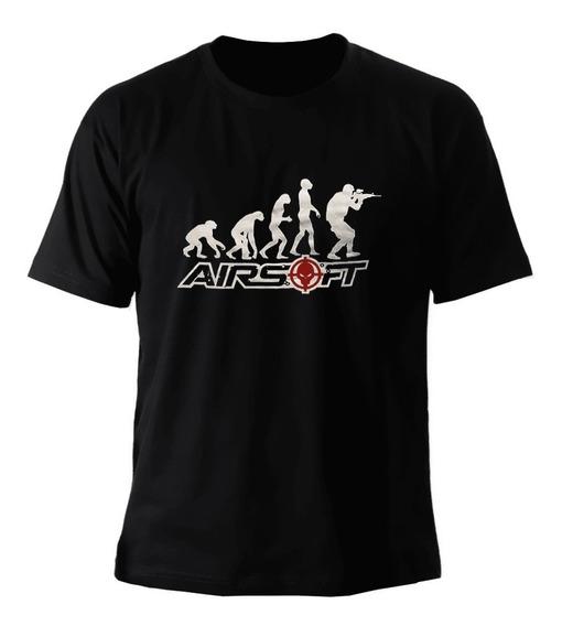 Camiseta Evolução Airsoft - Bravo
