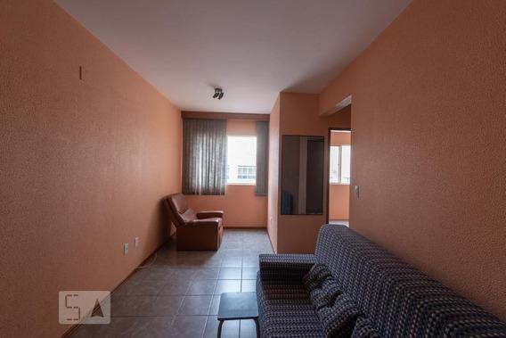 Apartamento No 2º Andar Com 2 Dormitórios E 1 Garagem - Id: 892970973 - 270973
