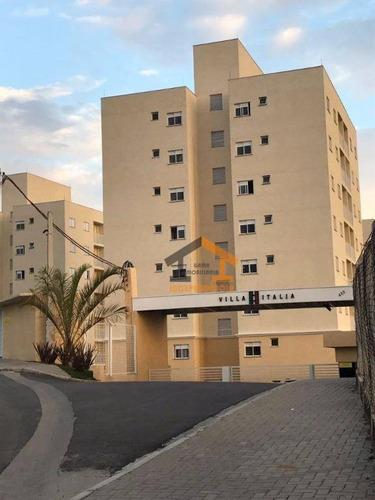 Apartamento À Venda, 58 M² Por R$ 260.000 - Loteamento Santo Antônio - Itatiba/sp - Ap0325