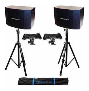 2 Vocopro Sv-600 3-way 12 300 Wat Karaoke Parlantes + Trip ®