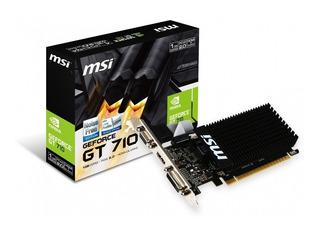 Tarjeta De Video Geforce Msi Gt 710 Nvidia 2gb