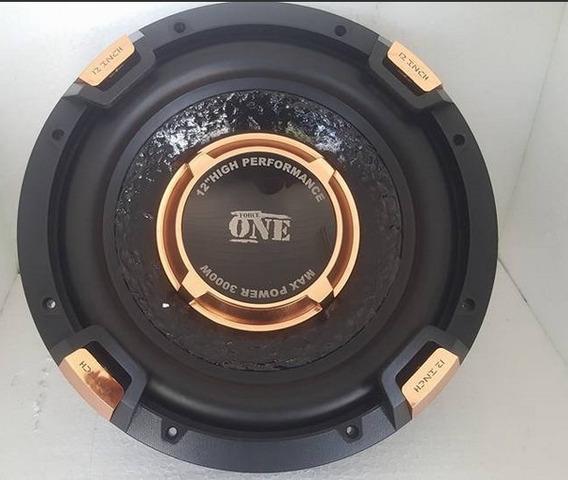 Boca Cone Fone 12 Pol 500w Rms Subwoofer Force One 4 Ohms