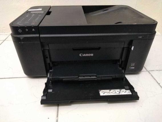 Impressora Canon Pixma E481 - Usada Com Defeito