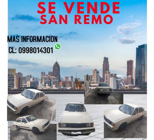 Chevrolet  San Remo   Sedan