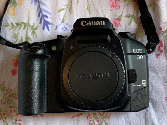 Canon Eos 30 Analógica Para Decoração / Peças / Colecionador