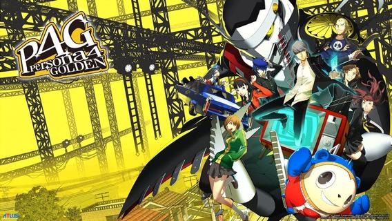 Persona 4 Golden - Pc (steam) - Envio Imediato