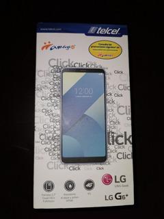 Celular Lg G6 Plus Azul, 128 Gb Memoria Int. Almacenamiento