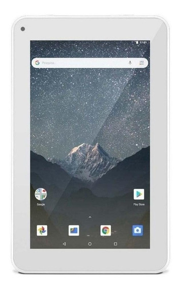 "Tablet Multilaser M7S Lite NB29 7"" 8GB branco com memória RAM 1GB"