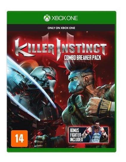 Jogo Killer Instinct - Xbox One Mídia Física Usado