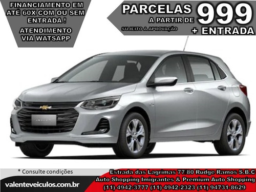 Chevrolet Onix 1.0 Turbo Ltz 2021 *todas As Cores*