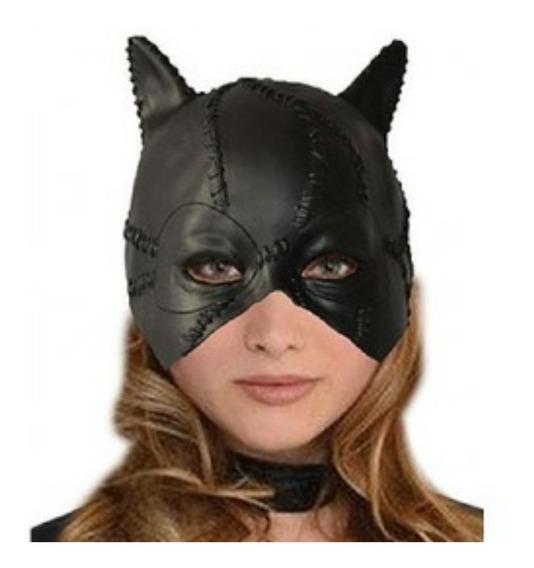 Gatubela Batman Mascara Latex Importada
