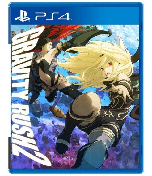 Gravity Rush 2 - Mídia Física Novo Lacrado - Playstation 4