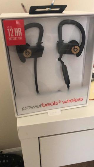 Fone De Ouvido Powerbeats 3 Wireless - Favor Ler O Anúncio.
