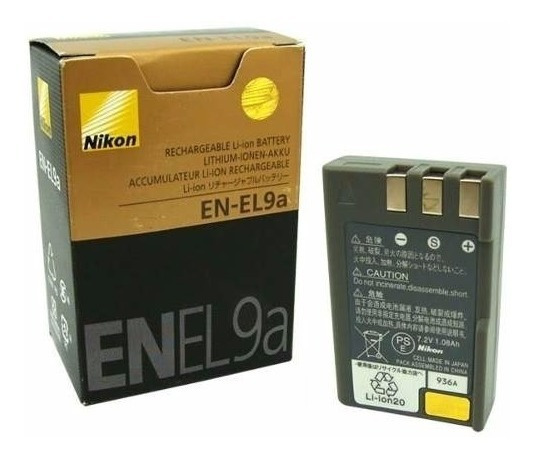 Bateria Nikon En-el9a Original El9 D40 D40x D60 D3000 D5000