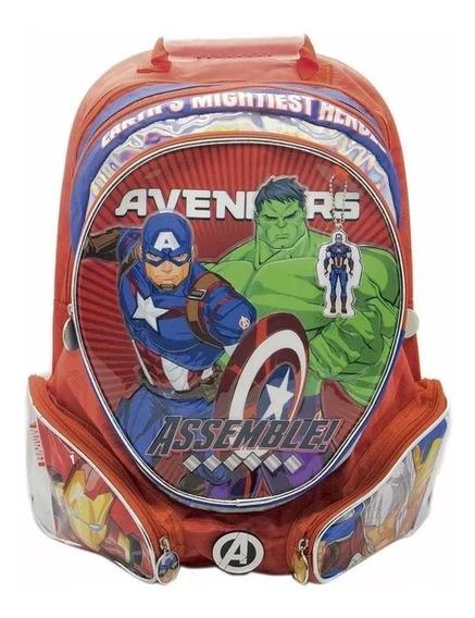 Mochila Avengers Vengadores 18 Pulgadas