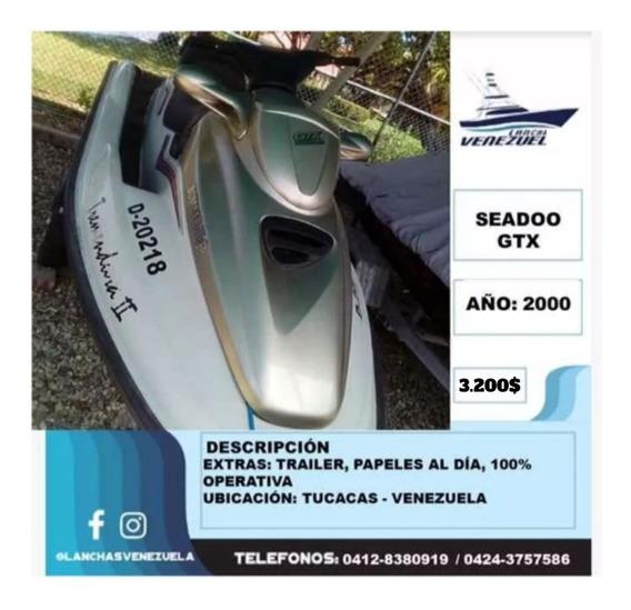 Moto De Agua Seadoo Gtx Lv158