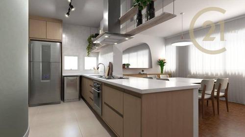 Apartamento Reformado Retrofit Com 3 Dormitórios À Venda, 126 M² Por R$ 1.950.000,00 - Jardim Europa - São Paulo/sp - Ap9762