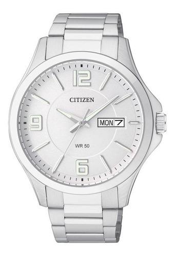 Imagen 1 de 2 de Reloj Citizen Cuarzo Caballero Plata M&l Bf2001-55a - S022