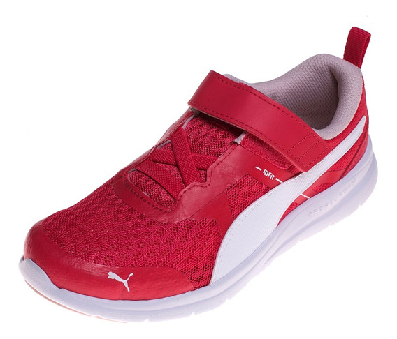 Zapatilla Puma Flex Essentialrojo