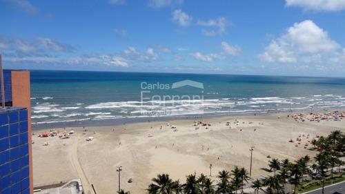 Apartamento Na P. Grande Frente Para O Mar Quer Permuta Por Imóvel Em São Paulo - Cf12496