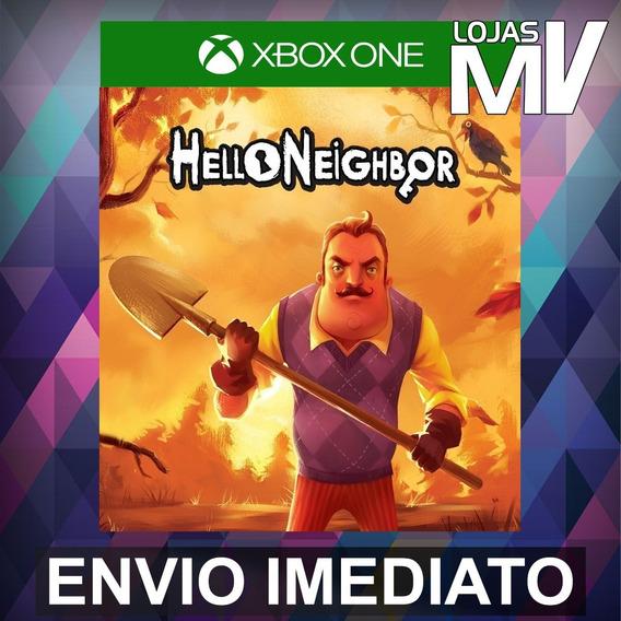 Hello Neighbor Xbox One Código 25 Dígitos