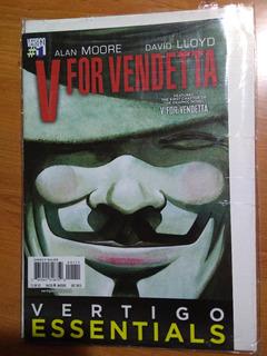 Comic V For Vendetta En Ingles - Alan Moore