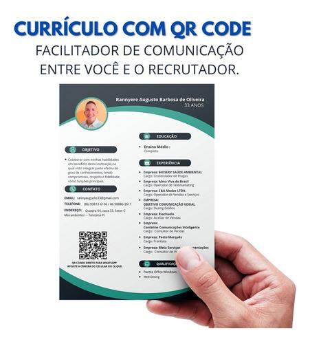 Imagem 1 de 3 de Currículos + Pesonalização = Barato Envio Rápido