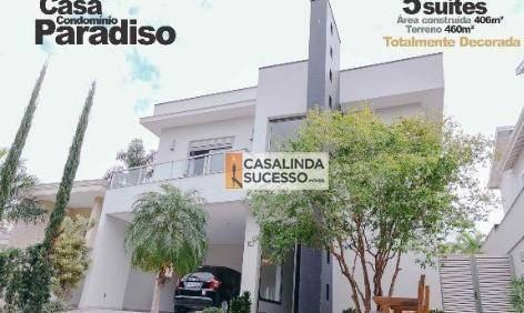 Sobrado À Venda, 403 M² Por R$ 2.300.000,00 - Jardim Paradiso - Indaiatuba/sp - So1096