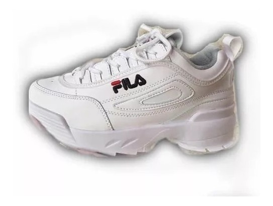 Zapatos Blancos Fila Deportivos Talla 29