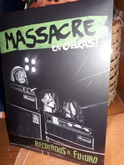 Cd Massacre En Obras Recuerdos Al Futuro + Dvd