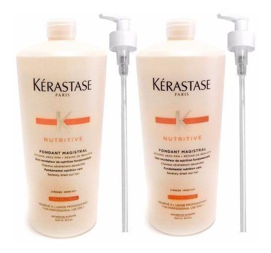 Kerastase Nutritive Magistral Kit Shampoo+acondicionador 1l
