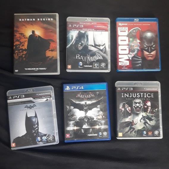 Coleção Jogos Batman Playstation 3 E 4