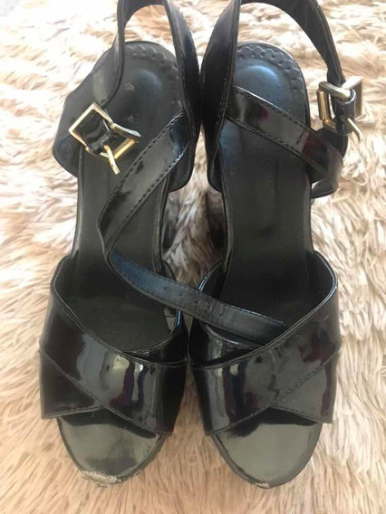 Zapatos Negros Lady Stork