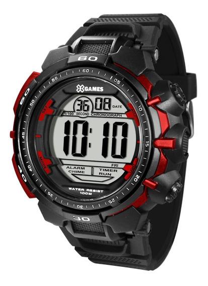 Relógio X-games Masculino Digital Xmppd401 Bxpx Vermelho