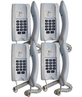 Kit Telefone Para Portaria Lr2065 Br Teclado Dedicado Lider