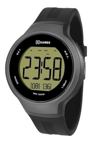 Relógio X Games Masculino Preto Xmppd557 Fxpx