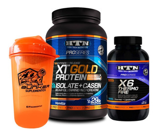 Htn Xt Gold Protein Isolate Quemador Thermofire + Shaker