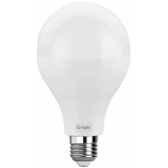 5 Lâmpada Led Bulbo E27 20w Quente Amarela 3000k G-light