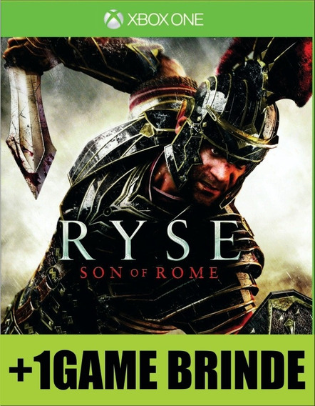 Ryse Son Of Rome Xbox One Mídia + 1 Game Brinde