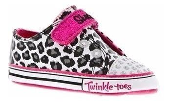 Tenis Skechers Twinkle Toes Infantil Tam 17 E 18 Promoção