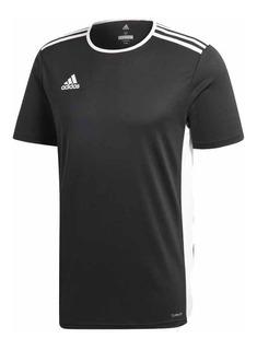 Camiseta adidas Futbol Entrada 18 Negro Hombre Deporfan
